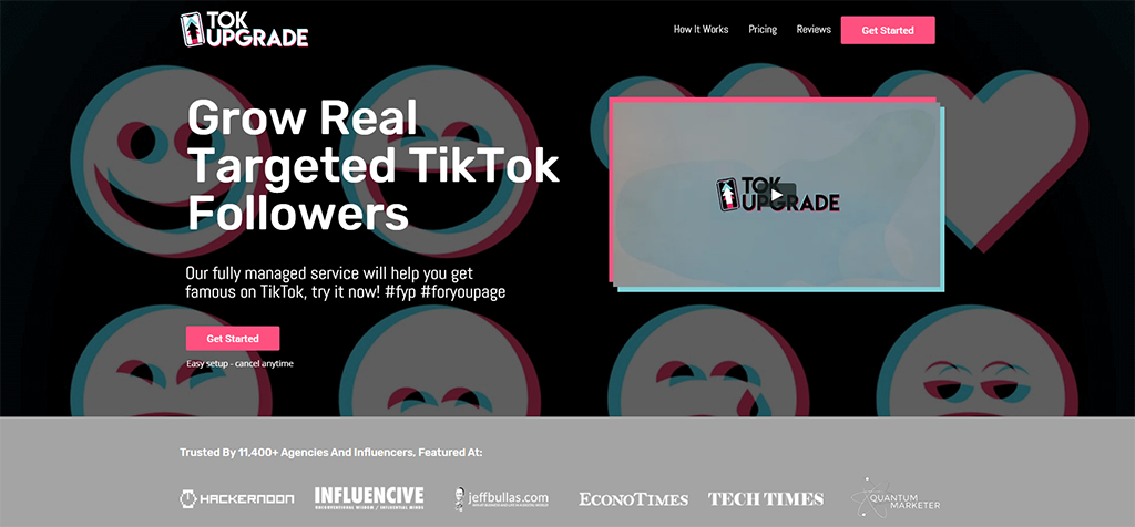 TokUpgrade - Buy Real TikTok Views