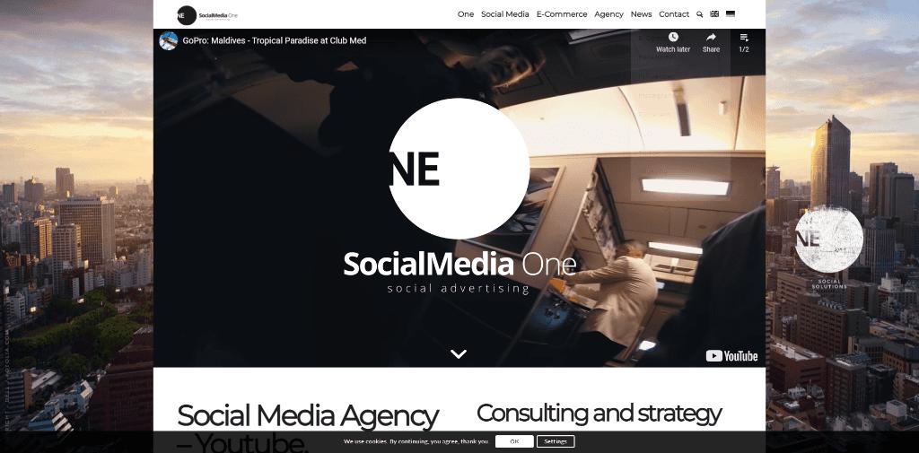 SocialMedia One