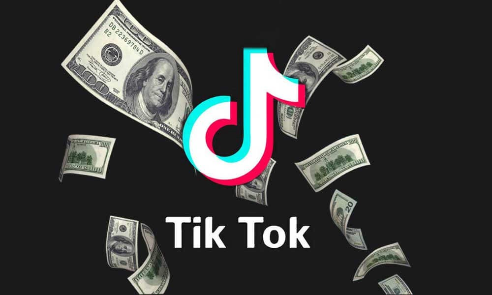 TikTok money