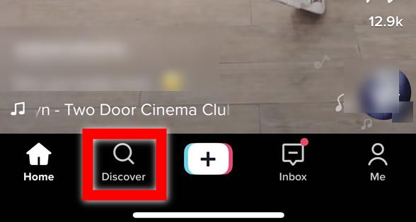 tiktok discover icon